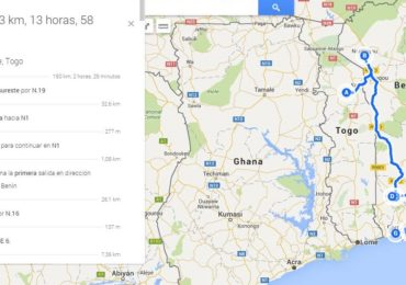 Carte du Bénin