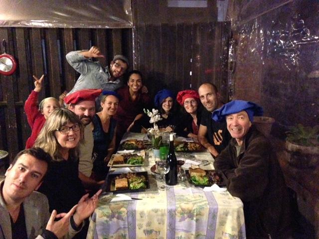 Repas au Pinche Francés  - Voyageurs tour du monde